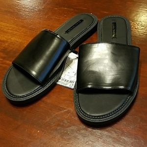 Zara SZ 6 NWT slide sandals